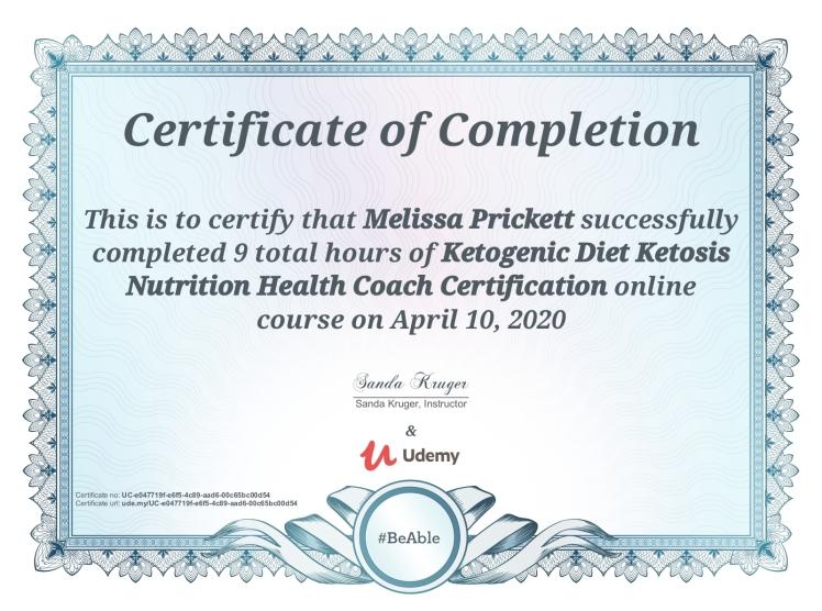 Keto Health Coach
